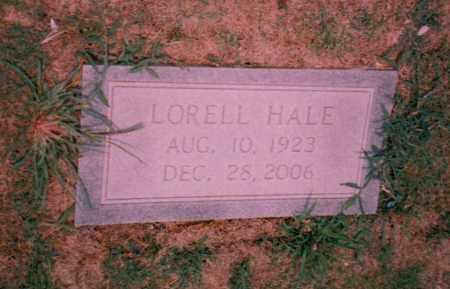 HALE, LORELL - Troup County, Georgia   LORELL HALE - Georgia Gravestone Photos