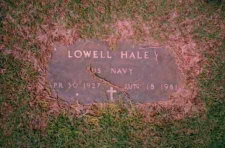 HALE, LOWELL - Troup County, Georgia | LOWELL HALE - Georgia Gravestone Photos