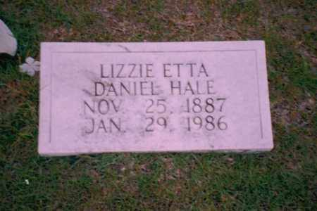 HALE, LIZZIE ETTA - Troup County, Georgia | LIZZIE ETTA HALE - Georgia Gravestone Photos
