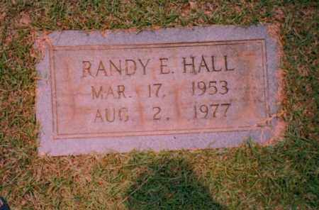 HALL, RANDY E. - Troup County, Georgia | RANDY E. HALL - Georgia Gravestone Photos