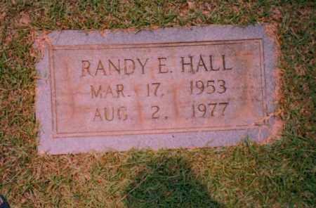 HALL, RANDY E. - Troup County, Georgia | RANDY E. HALL - Georgia Gravestone Photos