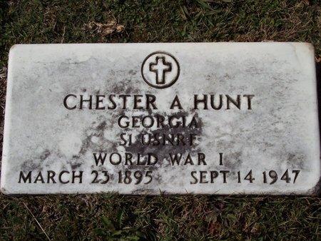 HUNT, CHESTER A. - Troup County, Georgia   CHESTER A. HUNT - Georgia Gravestone Photos