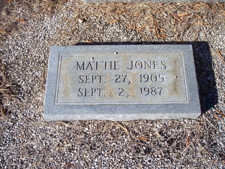 JONES, MATTIE - Troup County, Georgia | MATTIE JONES - Georgia Gravestone Photos