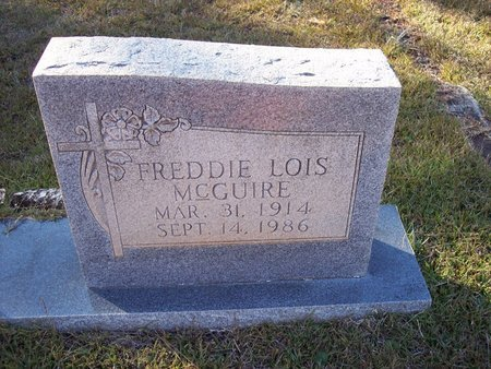 GRIFFIN MCGUIRE, FREDDIE LOIS - Troup County, Georgia | FREDDIE LOIS GRIFFIN MCGUIRE - Georgia Gravestone Photos