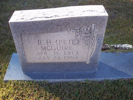MCGUIRE, R. H. (PETE) - Troup County, Georgia | R. H. (PETE) MCGUIRE - Georgia Gravestone Photos
