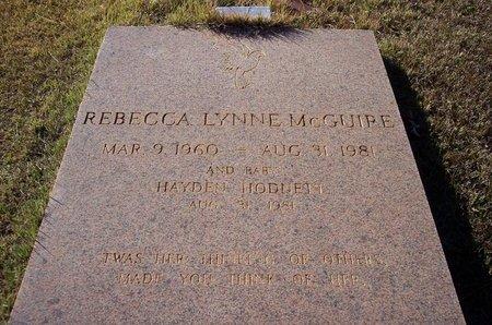 MCGUIRE, REBECCA LYNNE - Troup County, Georgia | REBECCA LYNNE MCGUIRE - Georgia Gravestone Photos