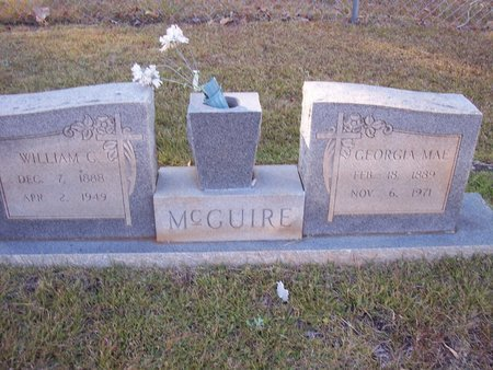 REYNOLDS MCGUIRE, GEORGIE MAE - Troup County, Georgia | GEORGIE MAE REYNOLDS MCGUIRE - Georgia Gravestone Photos