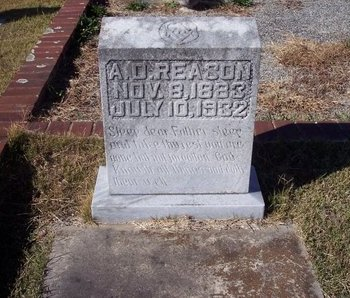 REASON, ALONZO DOUGLAS - Troup County, Georgia | ALONZO DOUGLAS REASON - Georgia Gravestone Photos