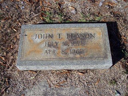 REASON, JOHN THOMAS - Troup County, Georgia   JOHN THOMAS REASON - Georgia Gravestone Photos