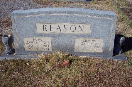 REASON, JAMES LEWIS - Troup County, Georgia | JAMES LEWIS REASON - Georgia Gravestone Photos
