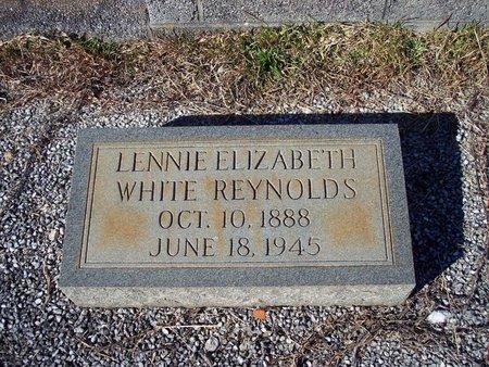 WHITE REYNOLDS, LENNIE ELIZABETH - Troup County, Georgia   LENNIE ELIZABETH WHITE REYNOLDS - Georgia Gravestone Photos