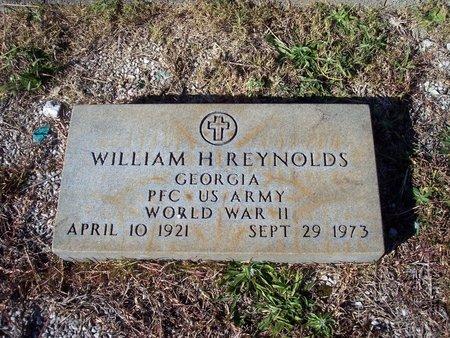REYNOLDS (VETERAN WWII), WILLIAM H (NEW) - Troup County, Georgia | WILLIAM H (NEW) REYNOLDS (VETERAN WWII) - Georgia Gravestone Photos