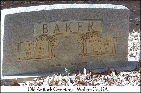 BAKER, BERNITA EARL - Walker County, Georgia | BERNITA EARL BAKER - Georgia Gravestone Photos