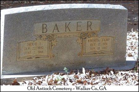 BAKER, JACKIE SHELTON - Walker County, Georgia | JACKIE SHELTON BAKER - Georgia Gravestone Photos