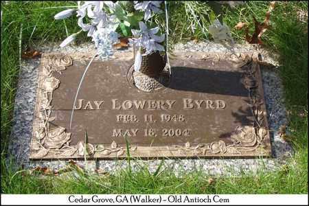 BYRD, JAY LOWERY - Walker County, Georgia   JAY LOWERY BYRD - Georgia Gravestone Photos