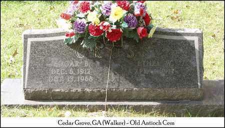 CROSS, EDGAR B. - Walker County, Georgia | EDGAR B. CROSS - Georgia Gravestone Photos
