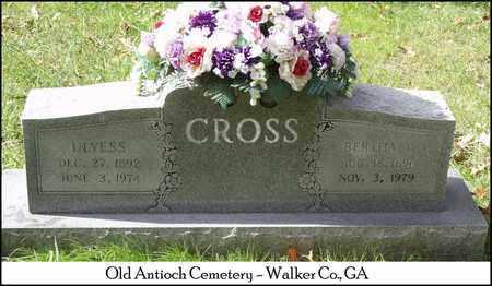 CROSS, BERTHA C. - Walker County, Georgia | BERTHA C. CROSS - Georgia Gravestone Photos