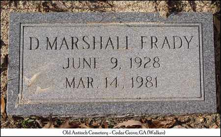 FRADY, D. MARSHALL - Walker County, Georgia | D. MARSHALL FRADY - Georgia Gravestone Photos