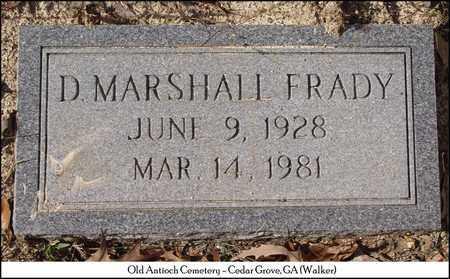 FRADY, D. MARSHALL - Walker County, Georgia | D. MARSHALL FRADY - Georgia Gravestone Photos