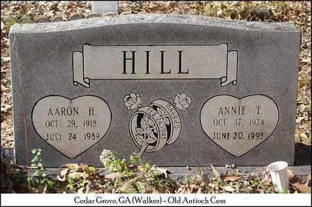 HILL, AARON H. - Walker County, Georgia   AARON H. HILL - Georgia Gravestone Photos