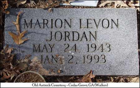 JORDAN, MARION LEVON - Walker County, Georgia | MARION LEVON JORDAN - Georgia Gravestone Photos