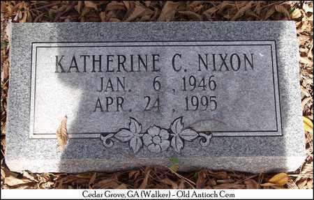 NIXON, KATHERINE C. - Walker County, Georgia   KATHERINE C. NIXON - Georgia Gravestone Photos