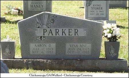 PARKER, VINA MAE - Walker County, Georgia | VINA MAE PARKER - Georgia Gravestone Photos