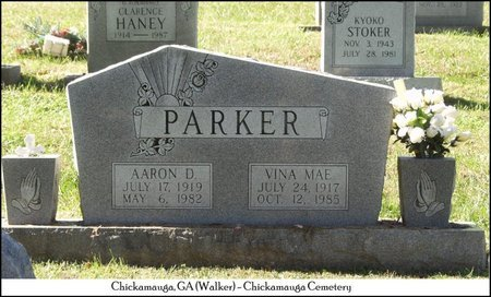 PARKER, AARON DAMASCUE - Walker County, Georgia | AARON DAMASCUE PARKER - Georgia Gravestone Photos