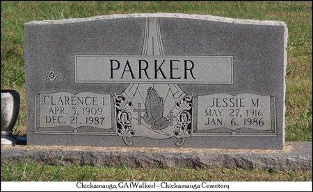 PARKER, CLARENCE I. - Walker County, Georgia | CLARENCE I. PARKER - Georgia Gravestone Photos