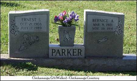 PARKER, ERNEST S. - Walker County, Georgia | ERNEST S. PARKER - Georgia Gravestone Photos