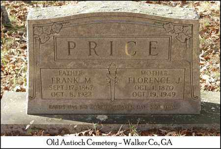 PRICE, FLORENCE J. - Walker County, Georgia | FLORENCE J. PRICE - Georgia Gravestone Photos