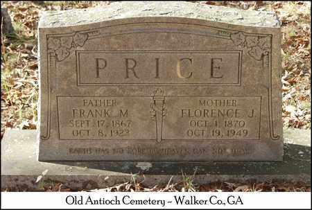 PRICE, FLORENCE J. - Walker County, Georgia | FLORENCE J. PRICE - Georgia Gravestone Photos