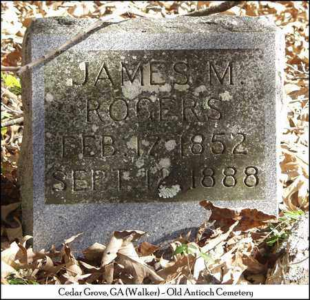 ROGERS, JAMES M. - Walker County, Georgia | JAMES M. ROGERS - Georgia Gravestone Photos