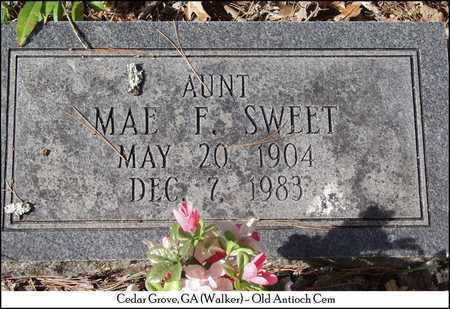 SWEET, MAE F. - Walker County, Georgia | MAE F. SWEET - Georgia Gravestone Photos