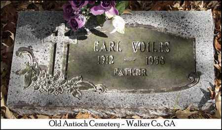 VOILES, EARL F. - Walker County, Georgia | EARL F. VOILES - Georgia Gravestone Photos