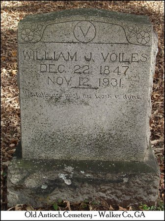 VOILES, WILLIAM J. - Walker County, Georgia | WILLIAM J. VOILES - Georgia Gravestone Photos