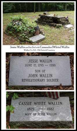 WHITE WALLIN, CASSANDRA A. - Walker County, Georgia | CASSANDRA A. WHITE WALLIN - Georgia Gravestone Photos