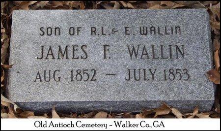 WALLIN, JAMES FRANCIS - Walker County, Georgia   JAMES FRANCIS WALLIN - Georgia Gravestone Photos