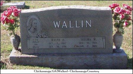GANN WALLIN, THELMA MAE - Walker County, Georgia | THELMA MAE GANN WALLIN - Georgia Gravestone Photos