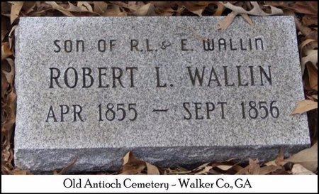 WALLIN, ROBERT L. - Walker County, Georgia   ROBERT L. WALLIN - Georgia Gravestone Photos