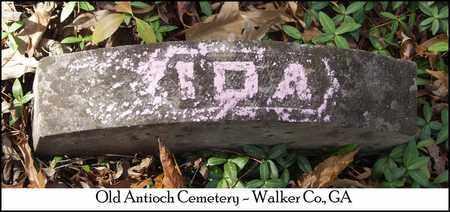 WHITLOW, IDA - Walker County, Georgia | IDA WHITLOW - Georgia Gravestone Photos