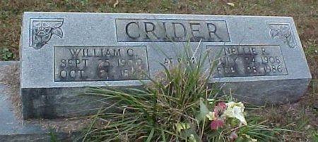 CRIDER, NELLIE - Whitfield County, Georgia | NELLIE CRIDER - Georgia Gravestone Photos