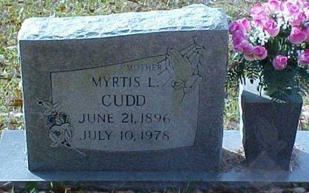CUDD, MYRTIS L. - Whitfield County, Georgia | MYRTIS L. CUDD - Georgia Gravestone Photos
