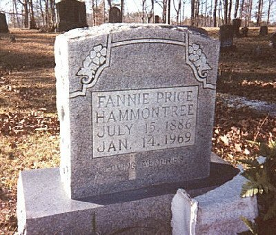 HAMMONTREE, FANNIE - Whitfield County, Georgia | FANNIE HAMMONTREE - Georgia Gravestone Photos