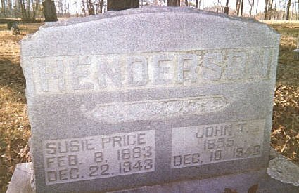 HENDERSON, SUSIE - Whitfield County, Georgia | SUSIE HENDERSON - Georgia Gravestone Photos