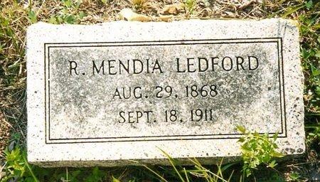 LEDFORD, R. MENDIA - Whitfield County, Georgia   R. MENDIA LEDFORD - Georgia Gravestone Photos