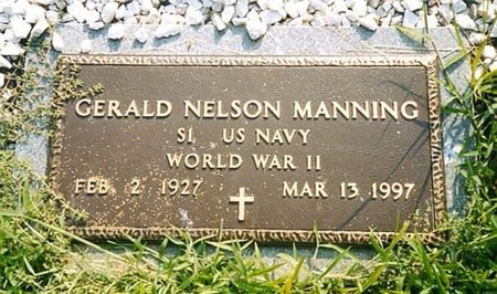 MANNING, GERALD NELSON - Whitfield County, Georgia | GERALD NELSON MANNING - Georgia Gravestone Photos