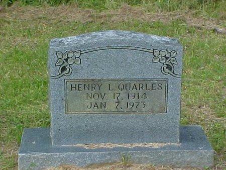 QUARLES, HENRY L. - Whitfield County, Georgia | HENRY L. QUARLES - Georgia Gravestone Photos