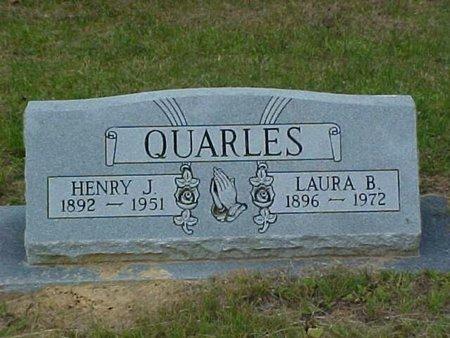 QUARLES, LAURA B. - Whitfield County, Georgia | LAURA B. QUARLES - Georgia Gravestone Photos