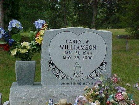 WILLIAMSON, LARRY W. - Whitfield County, Georgia | LARRY W. WILLIAMSON - Georgia Gravestone Photos